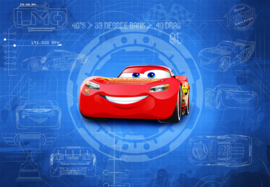 Komar fotobehang 8-488 Cars 3 Blueprint