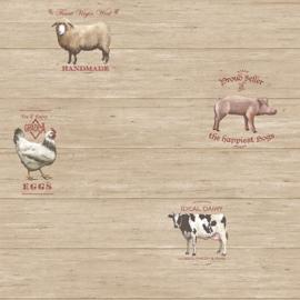 Galerie Kitchen Recipes G12301 boerderijdieren