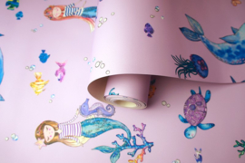 Over the Rainbow 91010 Narwhals and Mermaids Pink