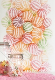 Fotobehang Wallpaper Queen ML230 candy