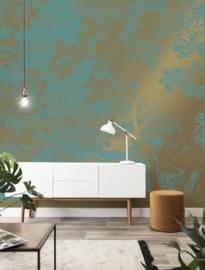 Kek Gold MW-036 Engraved Landscapes 400cm breed x 280cm hoog