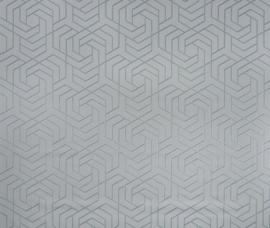 Osborn & Little Metropolis Vinyls  W7352-05 Hexagon Trellis