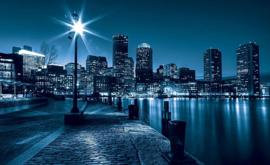 Fotobehang Boston