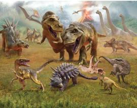 Walltastic posterbehang 46504 Dinosaurus land