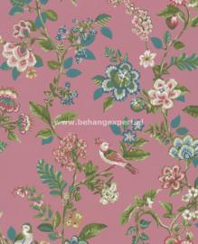 Eijffinger PiP Studio behang 375064 Botanical Print Donkerroze