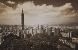 Fotobehang City Love CL93C Taipei