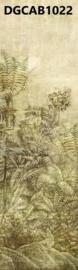 Khrôma Cabinet of Curiosities DGCAB1022 afm. 127cm x 300cm hoog Wander Leaf