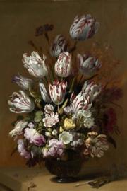Fotobehang Stilleven met bloemen - Hans Bollongier Rijksmuseum