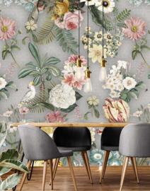Floral Utopia INK7582 fotobehang afm. 200cm breed x 280cm hoog