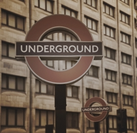 Fotobehang City Love CL29C London Underground
