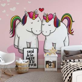 Fotobehang Unicorns