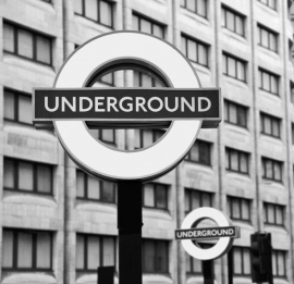 Fotobehang City Love CL29B London Underground