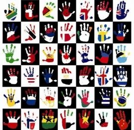 Little Ones fotobehang 416030 National Hands