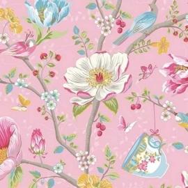 Eijffinger Pip Studio behang 341001 Chinese Garden Pink