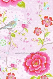 Eijffinger Pip Studio behang 313010 Birds in Paradise roze