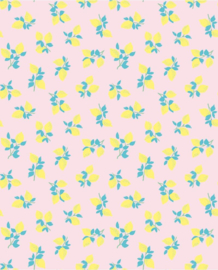 Behang Eijffinger Rice 359163 Juicy Lemon soft pink