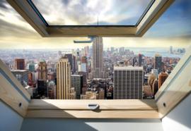 Fotobehang Modern 3D New York City Skyline