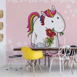 Fotobehang Sweet Unicorn