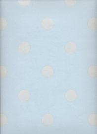 Eijffinger Pip Studio behang  386055 Dots Blauw