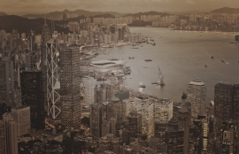 Fotobehang City Love CL91C Hong Kong