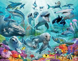 Walltastic posterbehang 46498 Under the Sea
