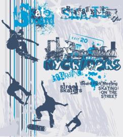 Fotobehang Skate