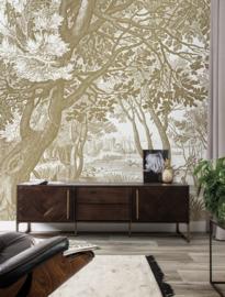 Kek Gold MW-040 Engraved Landscapes 200cm breed x 280cm hoog