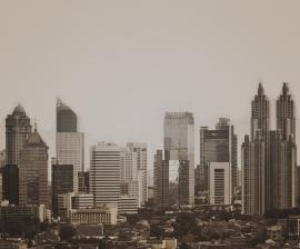 Fotobehang City Love CL67C Jakarta
