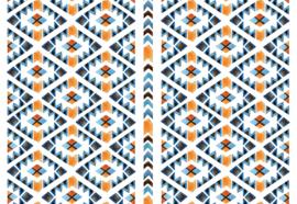 Fotobehang Aztec Pattern