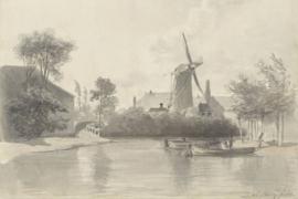 Fotobehang Gezicht te Haarlem - Anton Mauve