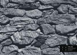 Fotobehang AG Design FTS1302 Muur van stenen