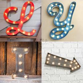 Esta #FAB 158816 Wallpaper XXL Houten licht letters