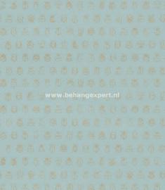 Eijffinger PiP Studio behang 375031 Lichtblauw