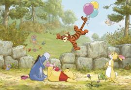 Komar fotobehang 8-460 Winnie Pooh Ballooning