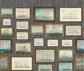 Boras Tapeter Marstrand || 8887 behangposter fotolijstjes met boten