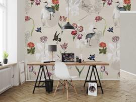 Floral Utopia INK7586 fotobehang afm. 200cm breed x 280cm hoog