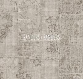 Behang Sanders & Sanders Trends&More 935262 vintage patchwork