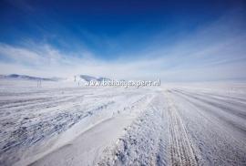 Fotobehang AP Digital 470050 Ice Road