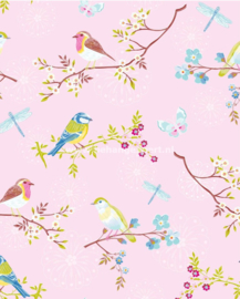 Eijffinger Pip Studio behang  386012 Early Bird Roze