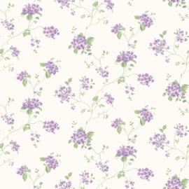 Galerie Miniatures G67867 bloemetjes behang