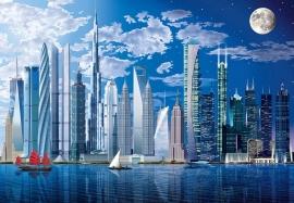 Fotobehang Idealdecor 00120 World's Tallest Buildings
