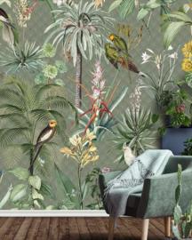 Floral Utopia INK7557 fotobehang afm. 200cm breed x 280cm hoog