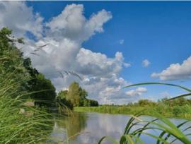 Fotobehang Holland 3288 - Kromme Rijn ||| 350cm breed x 270cm hoog