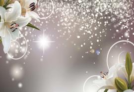 Fotobehang Lillies Floral Design