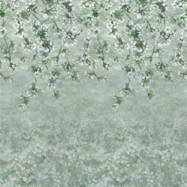 Designers Guild PDG1133/02 Assam Blossom Sage 140cm x 300cm hoog
