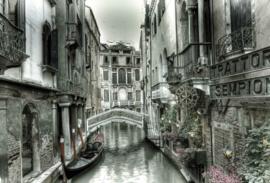 Fotobehang Venetië Canal