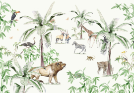 Creative Lab Amsterdam Just Another Day In The Jungle 400cm x 280cm hoog