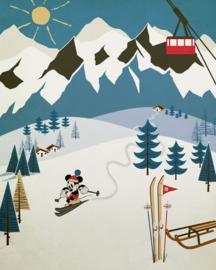 Komar Into Adventure IADX4-039 Mickey Alpine 200cm x 280cm hoog