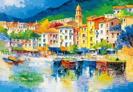 Fotobehang Idealdecor 00112 Riviera Ligure