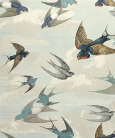 John Derian for Designers Guild PJD6003/01 Chimney Swallows